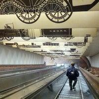 Photo taken at MBTA Porter Square Station by Adí on 12/21/2012