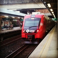 Photo taken at Estação Presidente Altino (CPTM) by Luis G. on 2/16/2013
