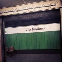 Foto tirada no(a) Estação Vila Mariana (Metrô) por Luis G. em 7/3/2013