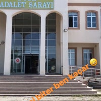 Photo taken at Biga Adalet Sarayı by Teslime S. on 8/24/2017