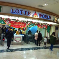 Photo taken at Lotte World Adventure by Jungsin L. on 11/23/2012
