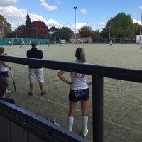 Photo taken at La Gantoise Hockey by Camille R. on 10/9/2016