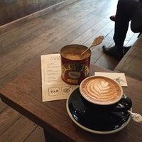 4/1/2016 tarihinde Tanya E.ziyaretçi tarafından TAP Coffee'de çekilen fotoğraf