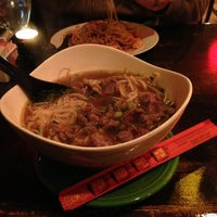 Photo taken at Thai Chef and Noodle Fusion by Liz B. on 1/17/2013