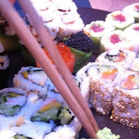 Photo taken at Sushi Shop by Eleni C. on 3/16/2013