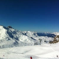 Photo taken at Courchevel Moriond 1650 by Arthur L. on 2/21/2013