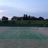 Photo taken at 藤代スポーツセンター テニスコート by siam b. on 8/28/2013