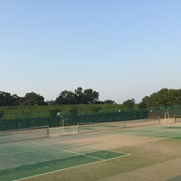 Photo taken at 藤代スポーツセンター テニスコート by siam b. on 7/10/2015