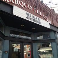 Снимок сделан в Marquis Theatre пользователем Gabriel D. 3/20/2013