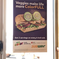 Photo taken at SUBWAY by David M. on 3/2/2017