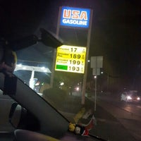 Photo taken at USA Gasoline by Gisela G. on 3/7/2016