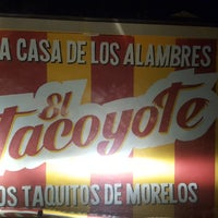 Photo taken at Taqueria El Tacoyote by Gisela G. on 2/11/2017