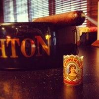 Photo taken at Elite Cigar Cafe by Kirk C. on 8/8/2013