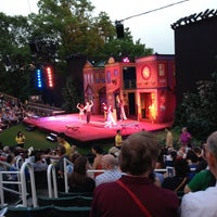 Foto tirada no(a) Delacorte Theater por Chris M. em 5/31/2013