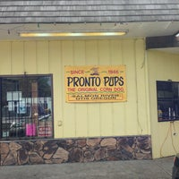 Photo taken at Pronto Pups by Chris M. on 7/28/2013