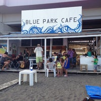 Photo taken at Blue Park Cafe by Tsuyoshi M. on 9/1/2013