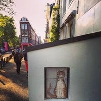 Photo taken at Tramhalte Spiegelgracht by Sophia P. on 5/30/2015