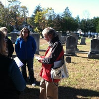 Photo taken at Gales Ferry Cemetery by Jon A. on 11/3/2012