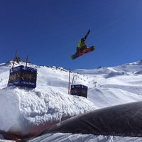 Photo taken at Xperia Ischgl Snowpark by Ivan S. on 3/14/2014
