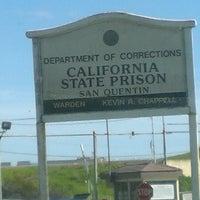 Photo taken at San Quentin State Prison by Nancy G. on 2/22/2013