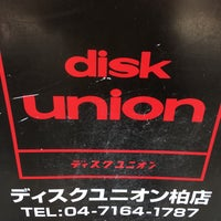 Photo taken at disk union 柏店 by liquidmall on 5/27/2017