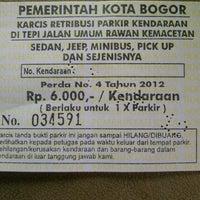 Photo taken at Jalan Suryakencana by Bernie T. on 11/5/2012