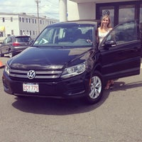 Photo taken at Colonial Volkswagen by Courtney S. on 7/26/2014