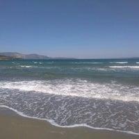 Photo taken at karapinar plaj by Bahtınur Ö. on 6/9/2016
