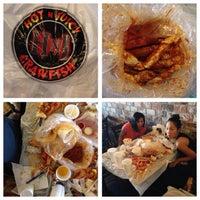 Photo taken at Hot N Juicy Crawfish by P Pam P. on 6/24/2013