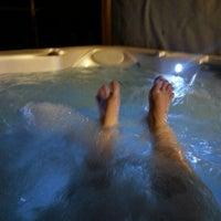 Photo taken at Hot Tub by Vikki H. on 10/28/2014