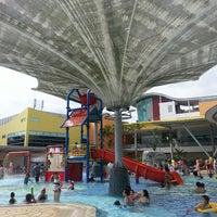 Photo taken at Sengkang Swimming Complex by Nana H. on 3/3/2013