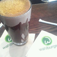 Photo taken at Wahlburgers by John G. on 10/9/2012