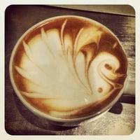 Photo taken at Aroma Espresso Bar by Aroma E. on 3/28/2013