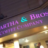Photo taken at Martha & Bros. Coffee by Derron A. on 11/11/2012