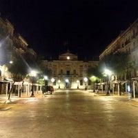 Photo taken at Plaça de la Font by David S. on 9/3/2013