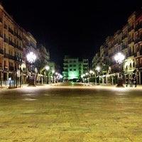 Photo taken at Plaça de la Font by David S. on 6/7/2013