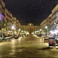 Photo taken at Plaça de la Font by David S. on 6/17/2013