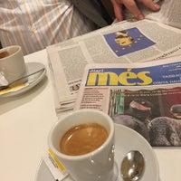 Photo taken at Cafetería Mónaco by David S. on 4/9/2015
