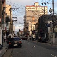 Photo taken at Rua Senador Fláquer by Rach M. on 4/21/2014