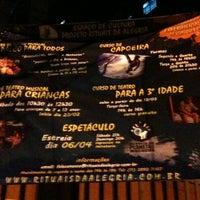 Photo taken at Espaço de Cultura Projeto Rituais da Alegria by Rach M. on 4/6/2013