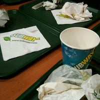Photo taken at Subway by Melina M. on 9/3/2014