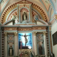 Photo taken at Templo Santa Catalina de Siena by Gloria V. on 3/6/2016