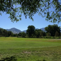 Photo taken at Nibley Park Golf Course by Katie B. on 7/21/2014