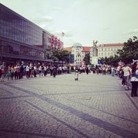 Photo taken at Hermannplatz by Camila G. on 6/16/2013