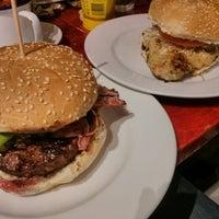 Photo taken at Gourmet Burger Kitchen by David C. on 2/14/2014