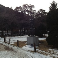 Photo taken at 속리산조각공원 by Dr Y. on 2/17/2013