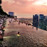 Photo taken at Marina Bay Sands Hotel by Sergio M. on 6/3/2013