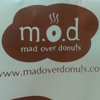 Photo taken at Mad Over Donuts by Kamal L. on 3/24/2013