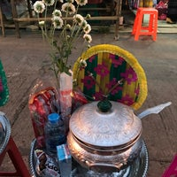 Photo taken at หมู่บ้านมอญ บ้านวังกะ by TUINUI on 12/29/2017