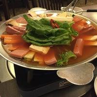 Photo taken at Auntie Kim's Korean Restaurant by Andrea S. on 2/15/2016